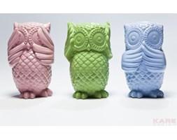 KARE Design :: Skarbonka Sowa niebieska