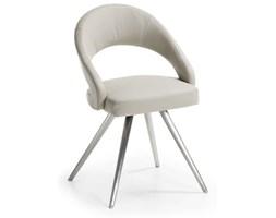 LaForma :: Krzesło VIVIAN Perłowe nogi ze stali nierdzewnej