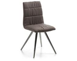 LaForma :: Krzesło LARK2 Brązowe - Nogi ze stali nierdzewnej