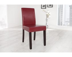 Krzesło Genova bordeaux - czerwony
