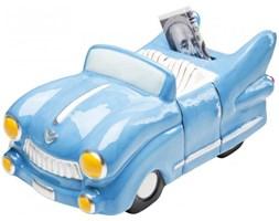 Kare Design Skarbonka American Dream Cabrio niebieska - 35902n