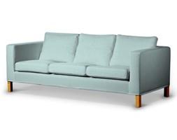 Dekoria Pokrowiec na sofę Karlanda 3-osobową nierozkładaną, krótki, pastelowy błękit, Sofa Karlanda 3-os, Cotton Panama