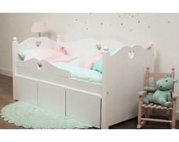 Łóżko Emma Bedbank 150 zestaw z 3 szufladami