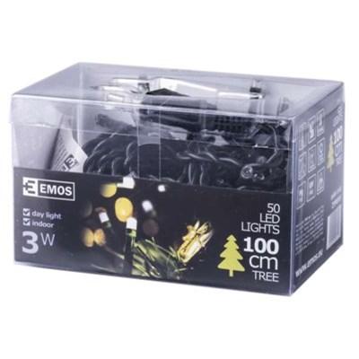 Lampki choinkowe EMOS 50 LED CHRISTMAS 2.5M IP20 DL ZYP0101