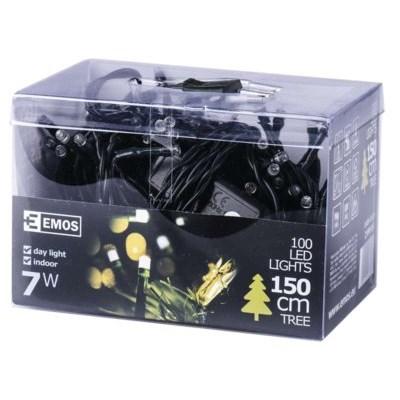 Lampki choinkowe EMOS 100 LED CHRISTMAS 5M IP20 DL ZYP0104