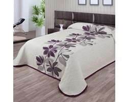 Forbyt Narzuta na łóżko Azura fioletowy, 140 x 220 cm