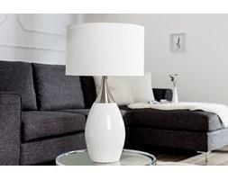 Lampa stołowa Adele 60 cm biała
