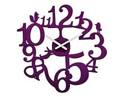 Zegar ścienny Pi:p, motyw leśny - kolor fioletowy, KOZIOL