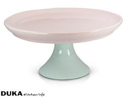 Patera 21 cm różowo-miętowa