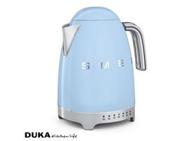 Czajnik elektryczny z regulacją temperatury 1700 ml pastelowy błękit