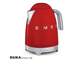 Czajnik elektryczny z regulacją temperatury 1700 ml czerwony