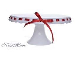 Patera ceramiczna ze wstążką Red I