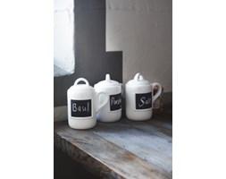 Zestaw pojemników na przyprawy Chalk Kboard Spice Jars