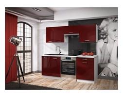 Zestaw mebli kuchennych ROSA kolor bordo połysk CLASSEN