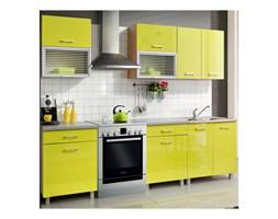 Zestaw mebli kuchennych FIONA kolor limonka połysk MEBLE OKMED