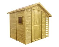 Domek z drewutnią szer. 259 x gł. 213 x wys. 225 cm STELMET