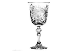 Kieliszki do wina kryształowe bogato zdobione 6 szt - 3215 -