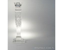Świecznik kryształowy 25,5 cm - IA247 (400553)