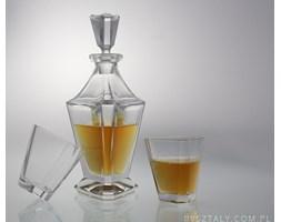 Komplet kryształowy do whisky - ICE GLAMUR (CZ747068)