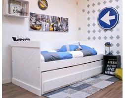 Łóżko SEM zestaw z dodatkowym wysuwanym spaniem