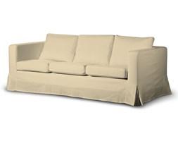 Dekoria Pokrowiec na sofę Karlanda 3-osobową nierozkładaną, długi, kremowy szenil, Sofa Karlanda 3-os, Madrid