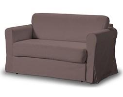 Dekoria Pokrowiec na sofę Hagalund, brązowo z odcieniem fioletu, Sofa Hagalund, Living