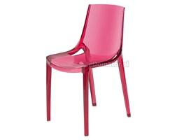 Krzesło designerskie PENGUIN - czerwone - Czerwony
