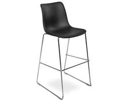 Hoker - krzesło barowe VINCENT czarny