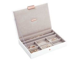 Pudełko na biżuterię z pokrywką classic Stackers edycja Rose Gold