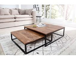 INTERIOR SPACE :: Zestaw 2 drewnianych stolików Tierra