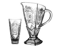 Dzbanek i 6 sztuk szklanek kryształowych (3299)
