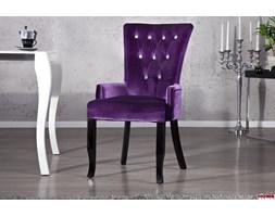 Krzesło z podłokietnikami Baroque Velvet Violet (Z12883)
