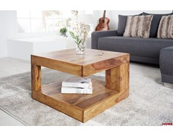 Stolik kawowy Honey Square drewno sheesham 60cm (Z36331)