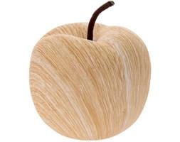 Jabłko ceramiczne WOOD LOOK - dekoracja, ozdoba