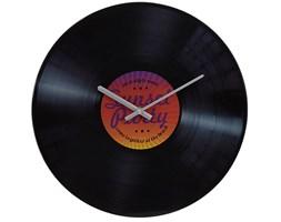 Okrągły zegar ścienny SUMMER, płyta winylowa - 35 cm