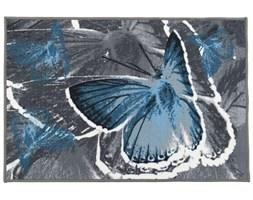 Dywan Foxy Motyl Niebieski Pętelka drukowana