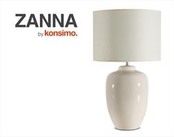 ZANNA Lampa biurkowa / KONSIMO.