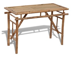 41505 Składany, bambusowy stolik