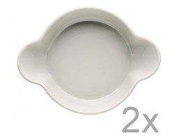 Zestaw 2 misek Sagaform Piccadilly Uszy, 13x17,5 cm, beżowe