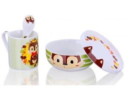 Silly Design Zestaw porcelanowy dla dzieci Wiewiórka Stuart - SD306