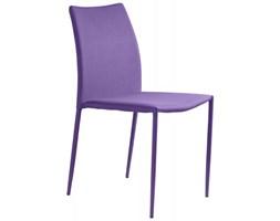 Unique Krzesło Design fioletowe - DES-11