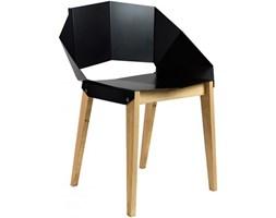 Gie El Krzesło stalowe Gie El. czarne - FST0290