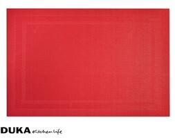 Podkładka czerwona z elastycznej siatki 30x45 cm