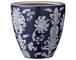 Doniczki I Osłonki Ceramiczne Kolor Granatowy Wyposażenie