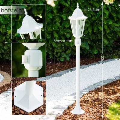 Bristol zewnętrzna lampa stojąca Biały, 1-punktowy - Klasyczny - Obszar zewnętrzny - Bristol - Czas dostawy: od 2-4 dni roboczych
