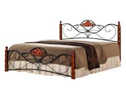 Łóżko dwuosobowe Valentina 160x200 antyczna czereśnia