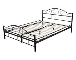 Łóżko metalowe Valeria 160x200 czarne