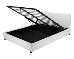 Łóżko tapicerowane Veronica 140x200 biały