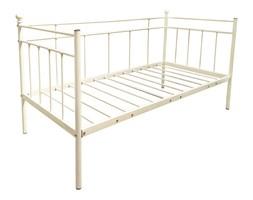 Łóżko metalowe Marija 90x200 biały
