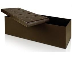 Pufa tapicerowana Seatbox brązowy